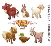 funny farm illustration  cute...