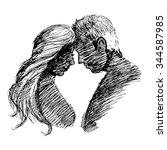 hand drawn illustration with...
