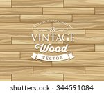 vintage tile wood floor striped ... | Shutterstock .eps vector #344591084