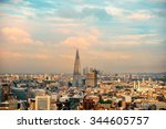 london  uk   sep 27  the shard... | Shutterstock . vector #344605757