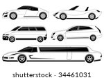 vehicle | Shutterstock .eps vector #34461031