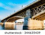 Arch Of Margaret Bridge In ...
