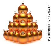 Christmas Balls Pyramid New...