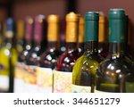 Wine Bottles Wine Store - Fine Art prints