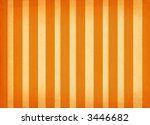vertically striped retro paper background shaded on edges - stock photo
