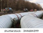 pipeline on the street | Shutterstock . vector #344684399