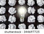 light bulb | Shutterstock . vector #344697725