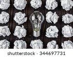 light bulb | Shutterstock . vector #344697731