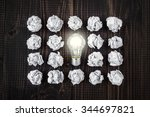 light bulb | Shutterstock . vector #344697821