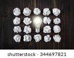 light bulb | Shutterstock . vector #344697821