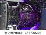 Jet Engine  Internal Structure...