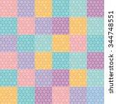 polka dot background seamless... | Shutterstock . vector #344748551