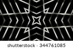 decorative shaped metal... | Shutterstock . vector #344761085