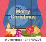 vector design of vintage and... | Shutterstock .eps vector #344764205