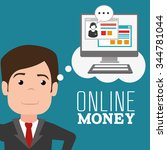 Money Online Payment Graphic...
