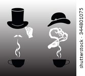 vector illustration   cup for...   Shutterstock .eps vector #344801075