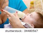 sweet baby girl | Shutterstock . vector #34480567