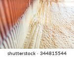thermal and hidro insulation... | Shutterstock . vector #344815544