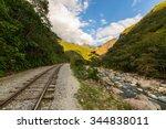 The Railroad Track Crossing...