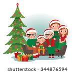 cartoon vector illustration of... | Shutterstock .eps vector #344876594