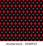 a retro seamless pattern... | Shutterstock . vector #3448915
