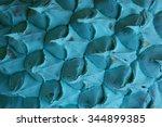 blue pineapple texture... | Shutterstock . vector #344899385