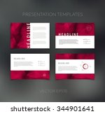 vector presentation design... | Shutterstock .eps vector #344901641