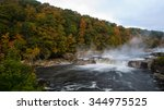 Ohiopyle Falls In The Fall