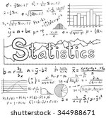 statistic math law theory and... | Shutterstock .eps vector #344988671