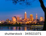 Downtown Cleveland  Ohio  Glow...