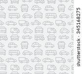 car seamless pattern | Shutterstock . vector #345168275