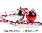 Christmas Balls With Ornaments...