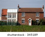 Two Storey Conservatory - stock photo