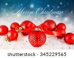 christmas background  | Shutterstock . vector #345229565