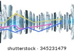 abstract background with city... | Shutterstock . vector #345231479