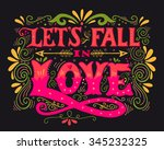 let's fall in love....