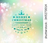 vector illustration of merry...   Shutterstock .eps vector #345273014