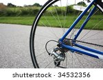 bicycle tire | Shutterstock . vector #34532356