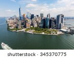 new york   august 24  views of... | Shutterstock . vector #345370775