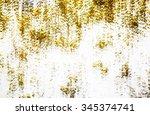 gold grunge style texture | Shutterstock . vector #345374741