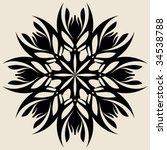 abstract flower | Shutterstock .eps vector #34538788