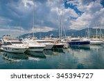 Sailing Boats At Tivat Old Town ...