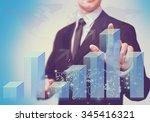 graph. | Shutterstock . vector #345416321