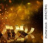 christmas holidays background | Shutterstock . vector #345427841