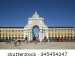 lisbon portugal november 06 ... | Shutterstock . vector #345454247