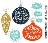 Vintage Christmas Baubles With...