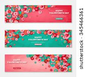 valentines horizontal banners...