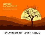 Landscape With Old Tree At...