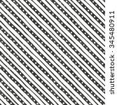 vector hand drawn striped... | Shutterstock .eps vector #345480911