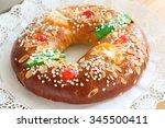 """roscon de reyes""   spanish...   Shutterstock . vector #345500411"